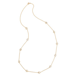 Diamond and Gold necklace