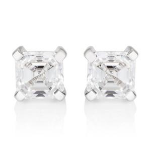 asscher_cut_diamond_earrings