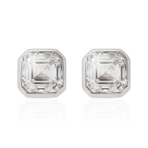 asscher_cut_diamond_studs