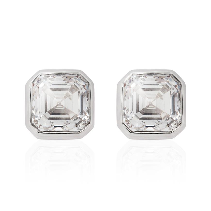asscher_cut_diamond_studs