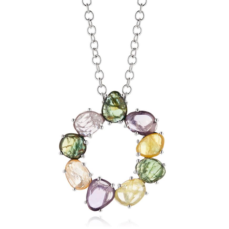 multi_coloured_sapphire_pendant_silver