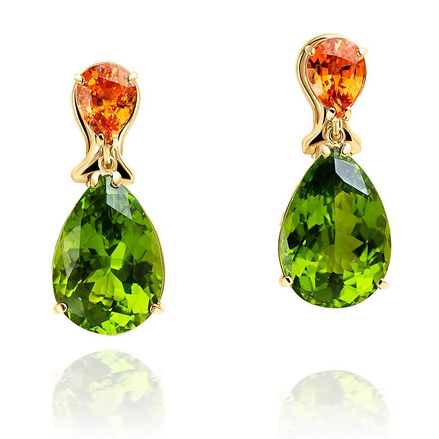 peridot_and_spessartitie_garnet_earrings