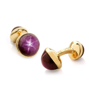 star_ruby_cufflinks