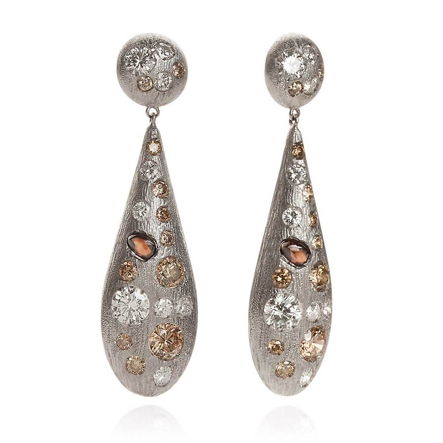 white_cognac_and_champagne_coloured_diamond_earrings