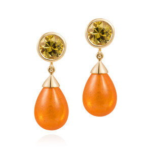 yellow_sapphire_and_spessartite_earrings